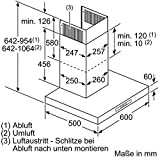 Bosch DWB06W652 Serie 2 Kaminhaube / Breite: 60 cm /