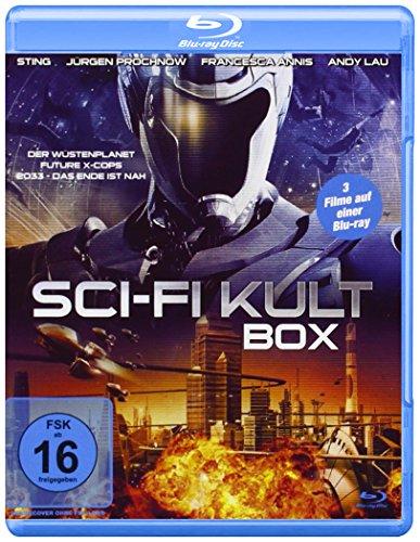 Sci-Fi Kult Box [Blu-ray] Ascot Music Box