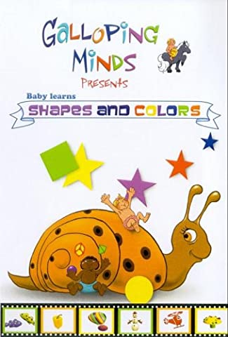 Baby Learns Shapes And Colors [DVD]