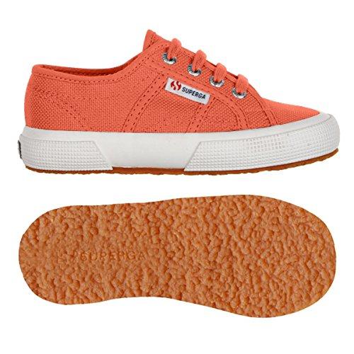 Superga2750 Jcot Classic - Scarpe da Ginnastica Basse Unisex – Bambini Red Coral
