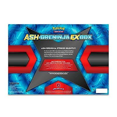 Pokemon TCG Ash-Greninja-EX Trading Card Box
