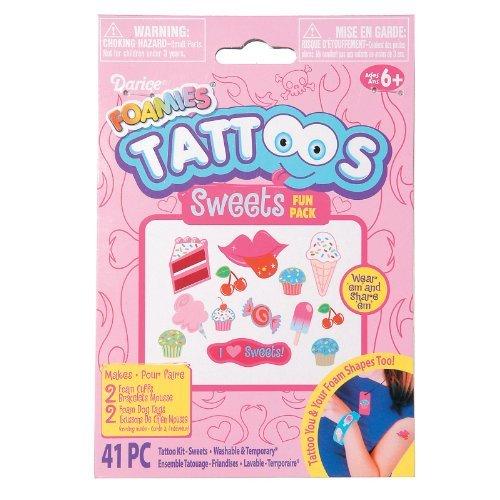 Foam Monkey Tattoo Activity Kit Party Accessory -
