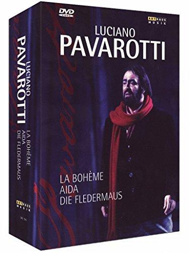 Luciano Pavarotti - La Boheme/Aida/Fledermaus [5 DVDs]