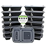 Best Freshware Meals - Freshware 15-Pack 2 Compartment Bento Lunch Boxes Review