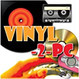 Vinyl-2-PC - Copy, Convert, Transfer Vinyl LPs, Audio Cassette Tapes & Minidiscs to your Windows PC, MP3 & CD. For Windows 8.1, 8, 7, Vista & XP. Inc all leads & CD. Connects headphone output on stereo to PC.