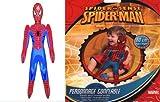 Juguete hinchable para niños, diseño de Spider, 60 cm de alto