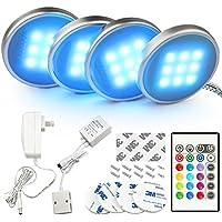 LED Küche Unter Kabinett Beleuchtung Multi Farbe veränderbar LED Akzentbeleuchtung für Schrank / Bücherregal / Schrank Dekoration LED Stimmungs Licht Mit Fernbedienung