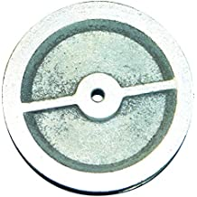 HSI cuerda ruedas (Hierro Fundido 50 mm, 10 unidades, 347050.0