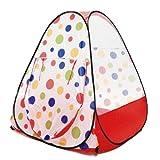 eWonderWorld Jumbo Red Polka Dot Teepee ...