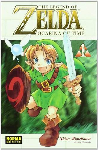 THE LEGEND OF ZELDA 01: OCARINA OF TIME 1 (CÓMIC MANGA) por Akira Himekawa