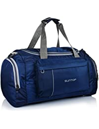 Suntop Alive Nylon 40 LTR Travel Duffle | Travel Bags | Duffle Bags for Travel | Duffle Bag for Men Gym