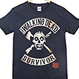 The Walking Dead - Camiseta Negro negro medium