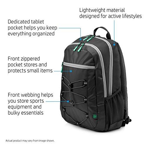 HP Active 15.6-inch Laptop Backpack (Black) Image 5
