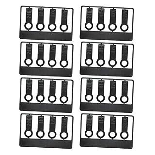 elasto Reifenmarkierset Reifenmarkierung für Reifenwechsel Radmarker (Schwarz, 10er-Set)