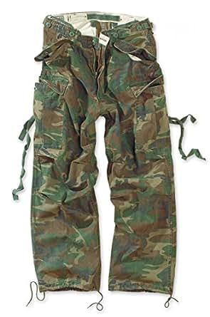 Surplus - Fatigues Vintage Trousers (bois lavé) S