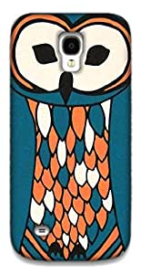 The Racoon Grip Perched Owl hard plastic printed back case / cover for Samsung Galaxy S4 Mini