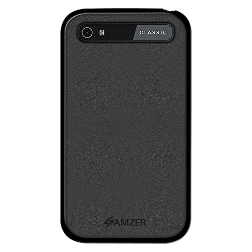 Amzer Pudding TPU Case for BlackBerry Classic (Black)