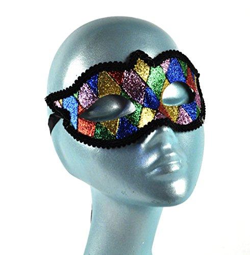 Arlecchino maschera di carnevale