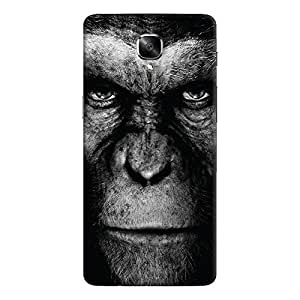 ColourCrust OnePlus 3 Mobile Phone Back Cover With Gorilla - Durable Matte Finish Hard Plastic Slim Case