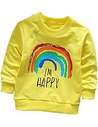 K-youth Sudadera para Niñas Niños - Sweat Shirt Ropa Recién Nacidos Bebé Niño Sudadera Niños Ropa Bebe Niña Otoño Invierno Dibujos…