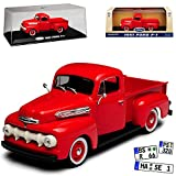 alles-meine.de GmbH Ford F-1 Pick-Up Rot 1. Generation 1948-1952 1/43 Greenlight Modell Auto