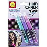 Alex Toys Spa 3 Hair Chalk Pens, Multicolor