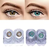 eyeshine T and R Lens Monthly Disposable Contact Lens with Case and Solution