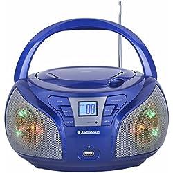 AudioSonic CD-1561 Radio portable stéréo Bleu