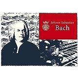 Fridolin 18911Johann sébastian Bach Reinigungstuch für Lünette Micro Faser/Chiffon Mehrfarbig 18x 12,5x 1cm