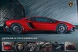Close Up Lamborghini Aventador LP750-4 Superveloce (91,5cm x 61cm) + Ü-Poster