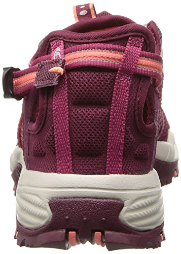 Salomon Techamphibian 3, Chaussures de Marche Nordique Femme Violet (Bordeaux/Carmine/Melon Bloom)