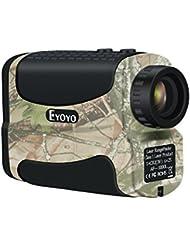 Golf Range Finder 1000 yards (914,4 m) - Eyoyo Télémètre Imperméable 6 x  Golfscope Scope Jumelles Camouflage