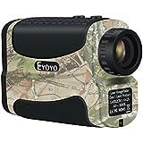 Golf Range Finder 1000Yard–Eyoyo impermeable 6x Tour caza distancia telémetro Golfscope alcance prismáticos, camouflage