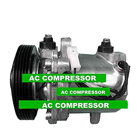 GOWE A/C Compressor with Clutch For Car Suzuki Baleno 1995-2002 - NEW 95200760CJ0, 95200-760CJ0, 9520060B53,
