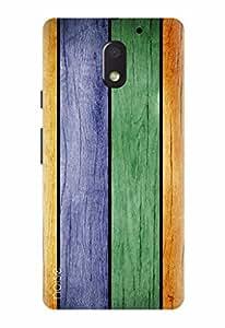 Noise Designer Printed Case / Cover for Motorola Moto E3 Power / Patterns & Ethnic / Linear Hue Design