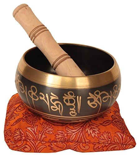 ShalinIndia Buddhistische singende schüssel Set Reisen Meditation Instrumente musikalische Indien