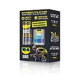 Bipack mantenimiento cadenas bicicleta en ambiente húmedo - WD-40 BIKE - Spray 500ml + gotero 100ml