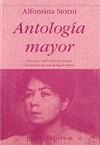 Antología mayor par Alfonsina Storni