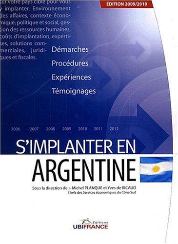 S'implanter en Argentine