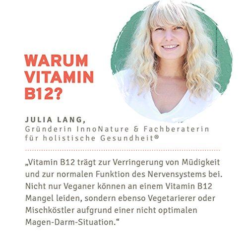 Vitamin B12 (Methylcobalamin) Tropfen (1000 µg pro Portion / 200µg pro Tropfen), 1.250 Tropfen in 50ml Flasche als 8 Monatsvorrat. Frei von Konservierungsstoffen. Vegan, hochdosiert, hergestellt in DE - 3