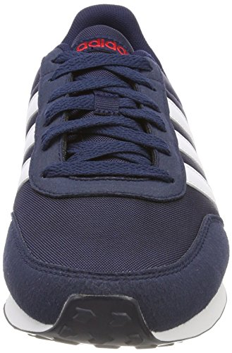 new style f9cef a5316 Adidas V Racer 2.0, Baskets Basses Pour Homme Bleu (collegiate Navy   Chaussures Blanc ...