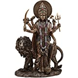 [Sponsored]Shivika Enterprises Durga Maa Standing With Lion Idol Shakti Kali Parvti For Home Décor/Gifts/Diwali Gifts/House Warming/Wedding Gift