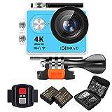 IXROAD Action Cam 4K WiFi Unterwasserkamera