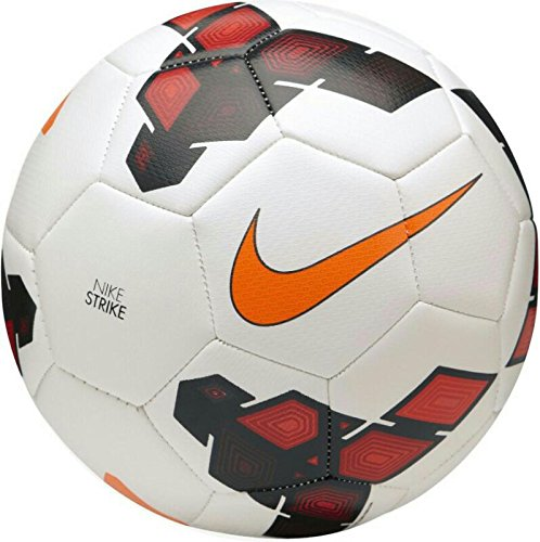 Larjonna Nike Strike PL (White/Red) replica Football. Size-5  available at amazon for Rs.612