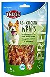 Trixie Premio Fish Chicken Wraps, 80 g, 5er Pack (5 x 85 g)
