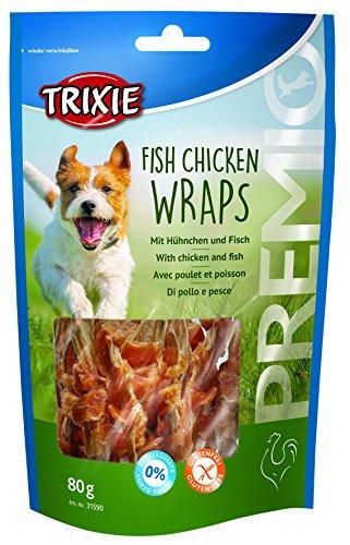 Trixie Premio Fish Chicken Wraps, 80 g, 5er Pack (5 x 85 g) Preisvergleich