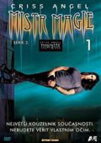 Criss Angel: Mistr magie - 2. serie DVD 1 (Criss Angel Mindfreak - Season 2 DVD 1) [paper sleeve]