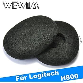 WEWOM 2 almohadillas de repuesto para cascos Logitech H800