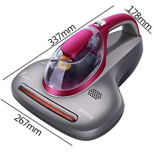 MU Aspirador de vacío Aspirador de Uso doméstico Aspirador de Mano Compacto y Filtro Hepa Colchón Almohada Colcha Sofá de Tela