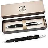 PARKER Kugelschreiber IM Schwarz C.C. S0856430 mit persönlicher Laser - Gravur